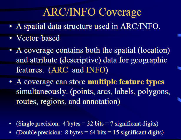 GEOG 104 : Geographic Information Science and Spatial Reasoning